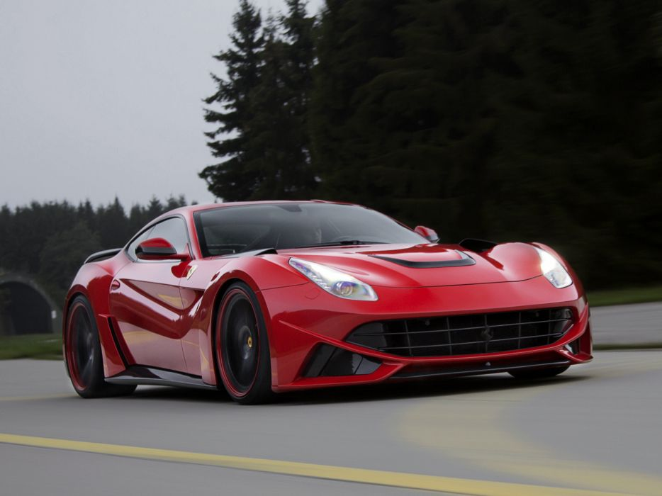 2013 Novitec Rosso Ferrari F12 Berlinetta N-Largo tuning supercar wallpaper