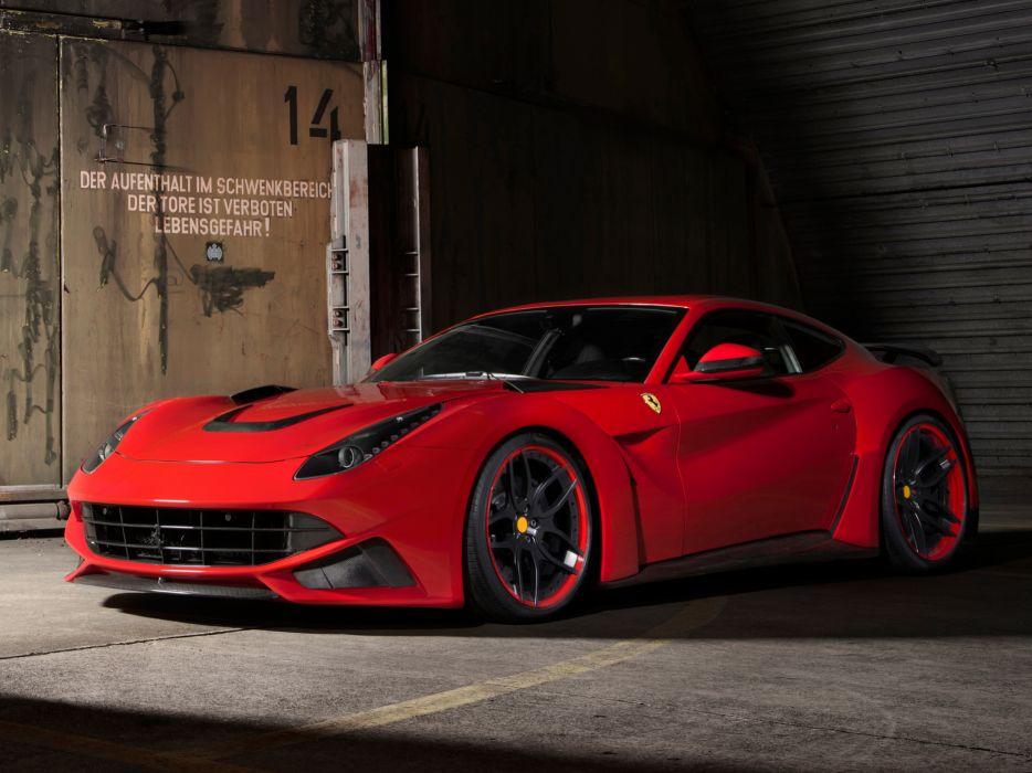 2013 Novitec Rosso Ferrari F12 Berlinetta N-Largo tuning supercar n wallpaper
