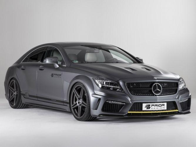 2013 Prior-Design Mercedes Benz CLS PD550 Black Edition tuning hs wallpaper