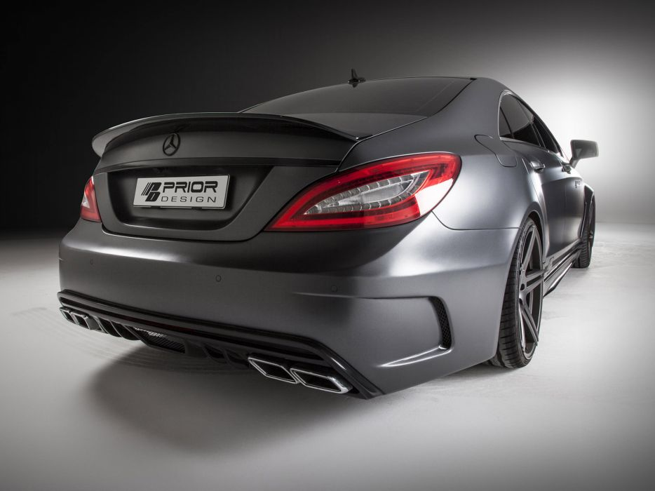 2013 Prior-Design Mercedes Benz CLS PD550 Black Edition tuning  g wallpaper