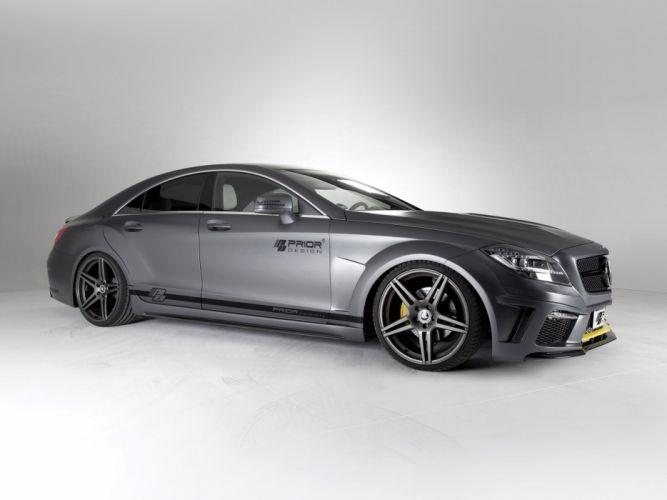 2013 Prior-Design Mercedes Benz CLS PD550 Black Edition tuning gl wallpaper