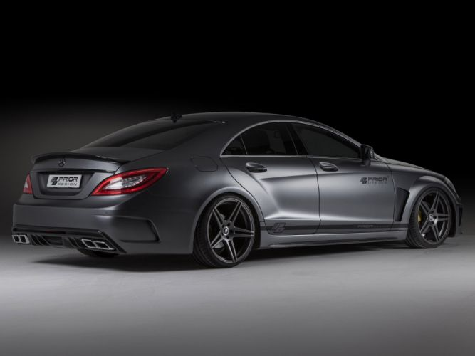 2013 Prior-Design Mercedes Benz CLS PD550 Black Edition tuning gs wallpaper