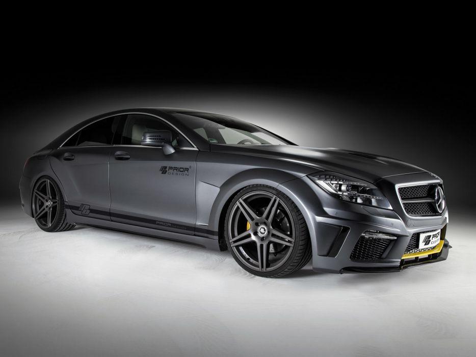 2013 Prior-Design Mercedes Benz CLS-Klasse PD550 Black Edition (C218) tuning wallpaper