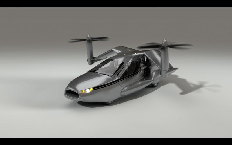 2013 Terrafugia TF-X concept plane airplane aircraft h wallpaper