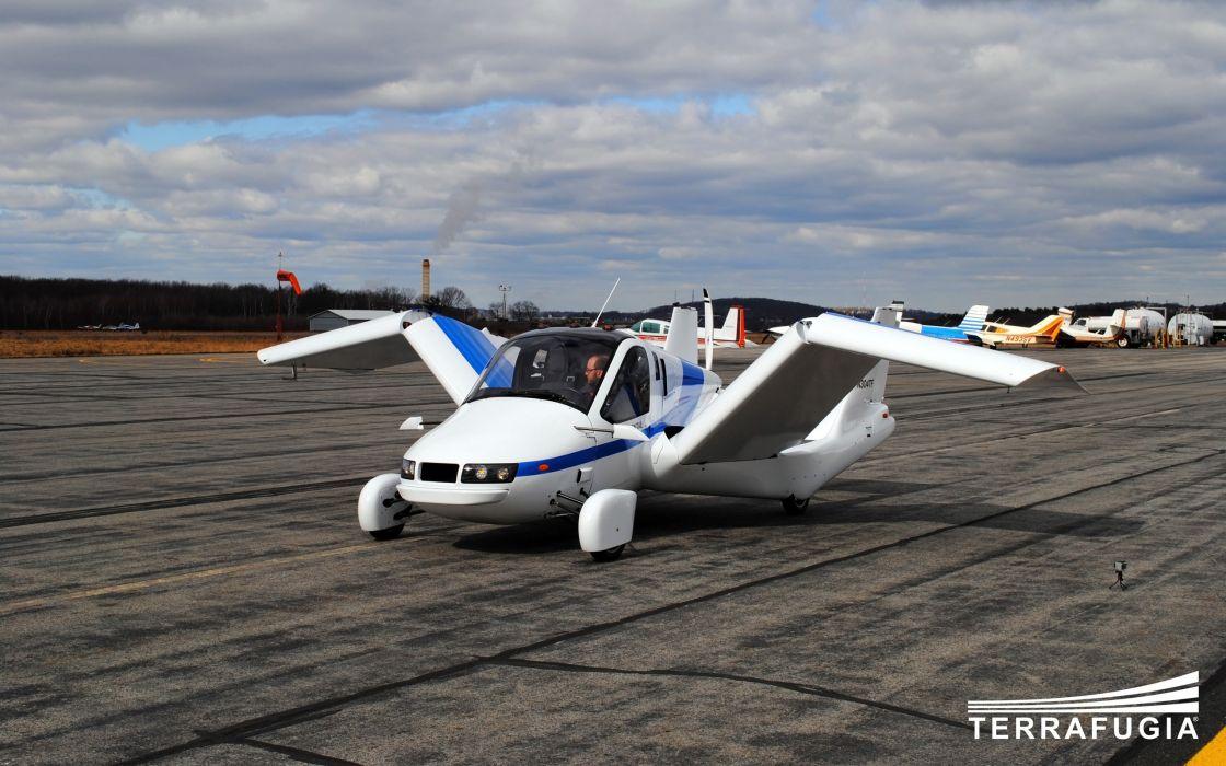 2013 Terrafugia Transition concept plane airplane aircraft    h wallpaper