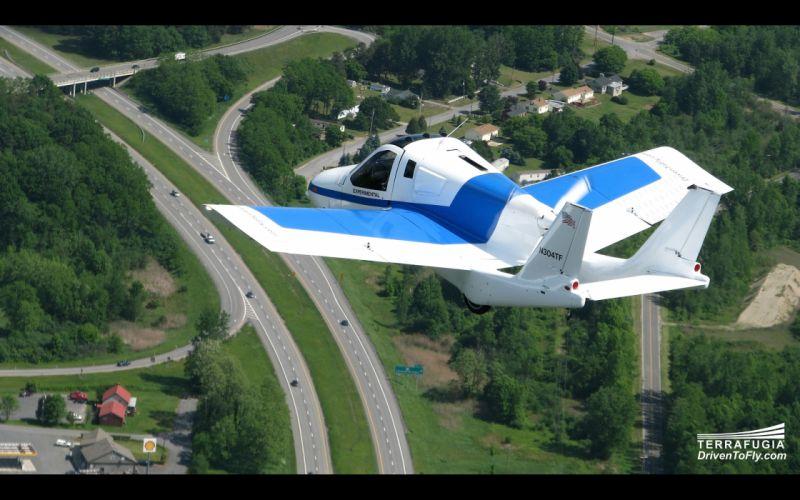 2013 Terrafugia Transition concept plane airplane aircraft b wallpaper