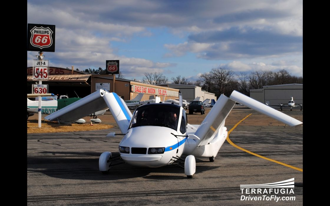 2013 Terrafugia Transition concept plane airplane aircraft  ds wallpaper