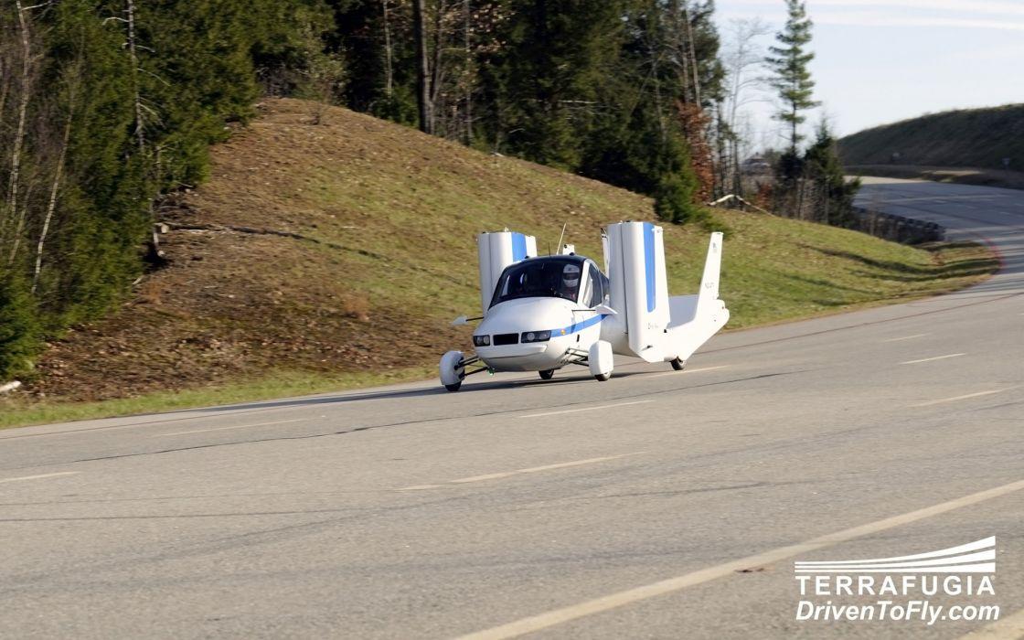 2013 Terrafugia Transition concept plane airplane aircraft wallpaper