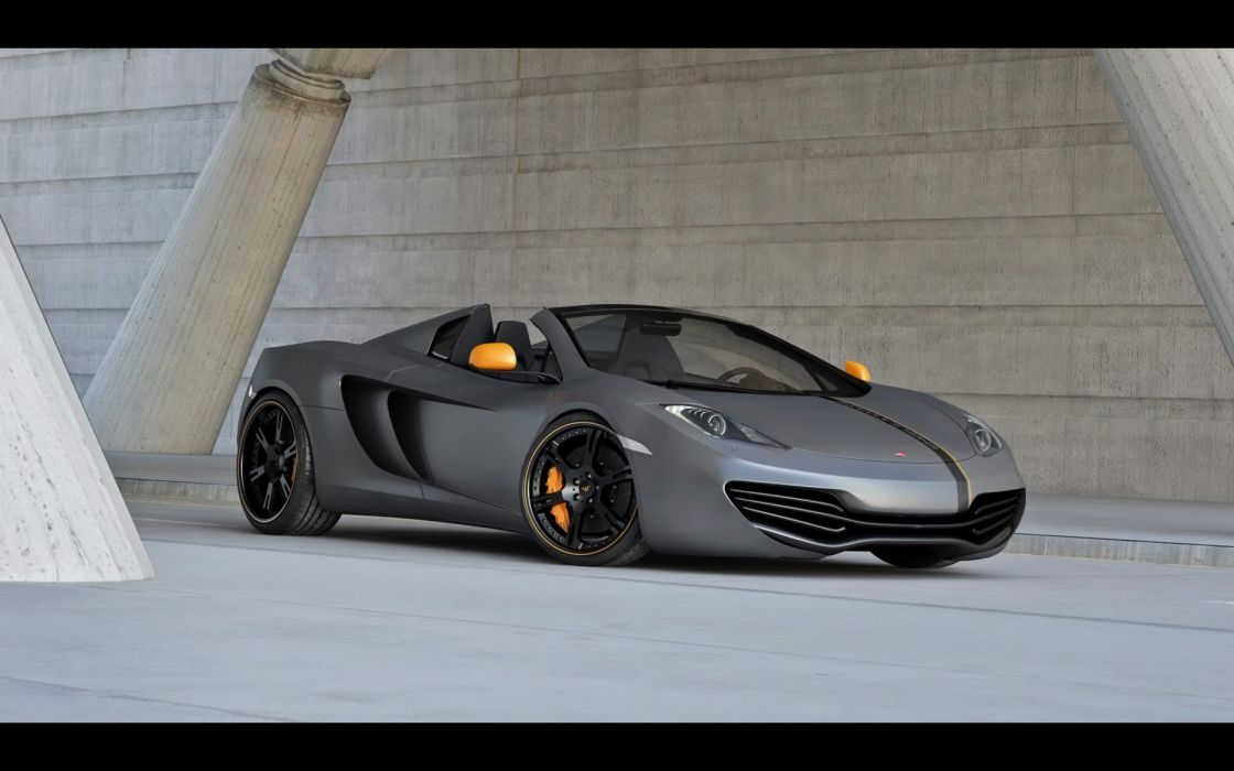 2013 Wheelsandmore McLaren MP4-12C Spider tuning supercar    g wallpaper