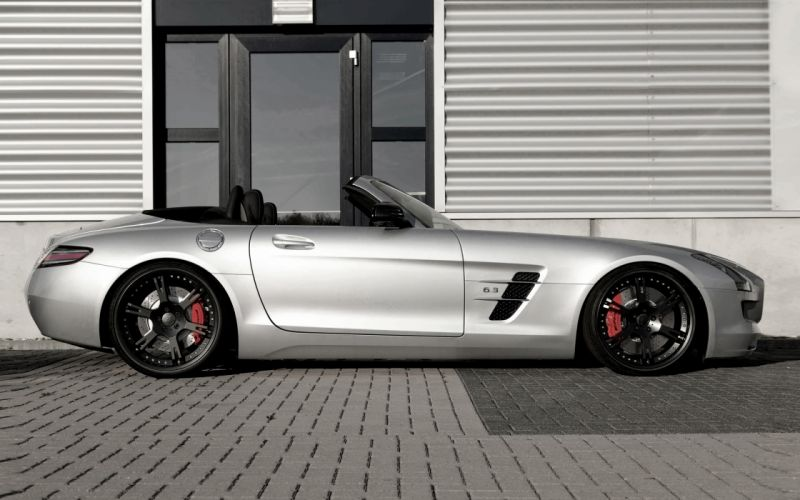 2013 Wheelsandmore Mercedes Benz SLS AMG Roadster supercar tuning convertible f wallpaper