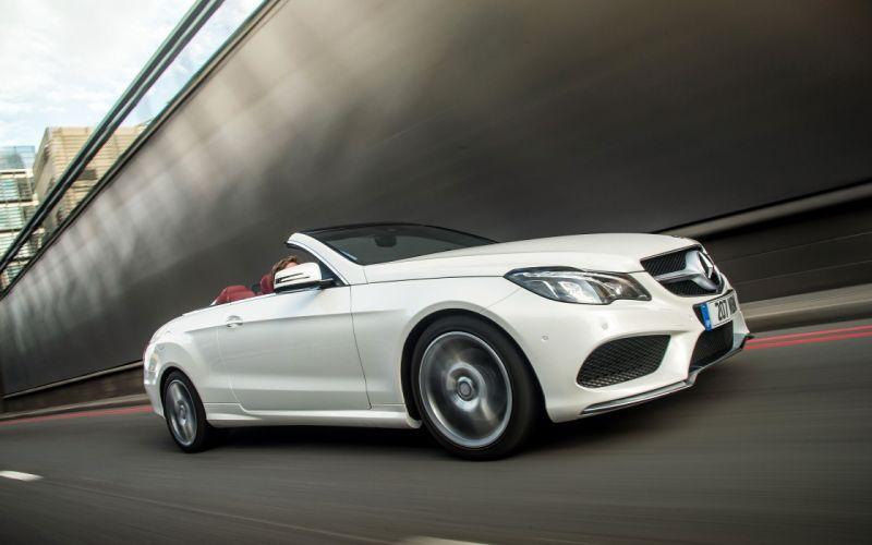 2014 Mercedes Benz E-CLass Cabriolet convertible f wallpaper