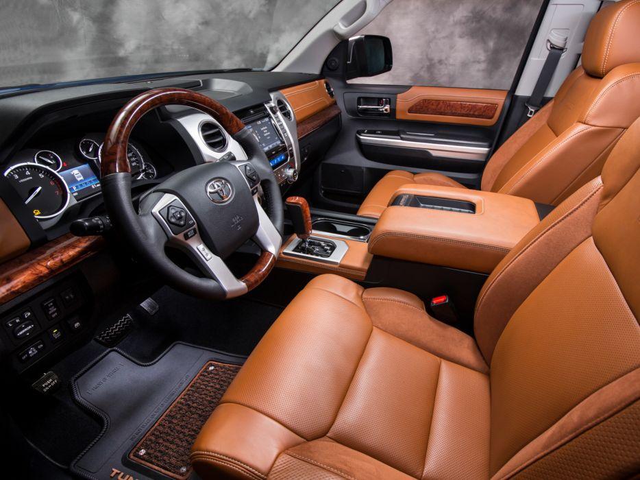 2014 Toyota Tundra 1794 Edition Pickup Interior G Wallpaper