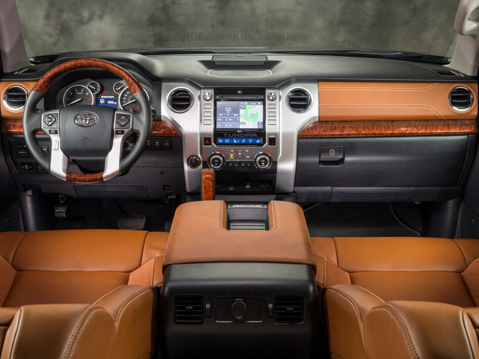 2014 Toyota Tundra 1794 Edition Pickup Interior T