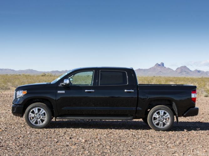 2014 Toyota Tundra CrewMax Platinum Package pickup f wallpaper