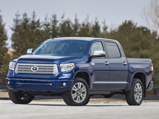 2014 Toyota Tundra CrewMax Platinum Package pickup gw wallpaper