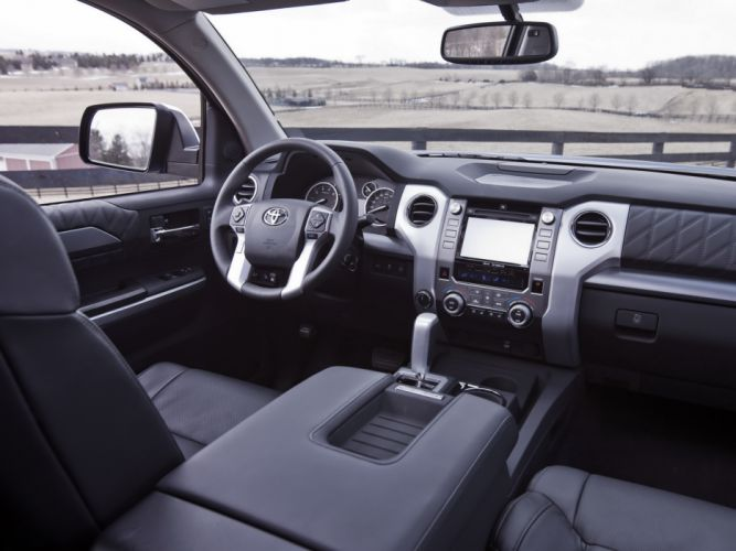 2014 Toyota Tundra CrewMax Platinum Package pickup interior g wallpaper
