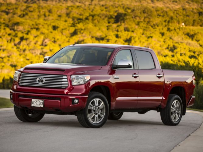 2014 Toyota Tundra CrewMax Platinum Package pickup g wallpaper