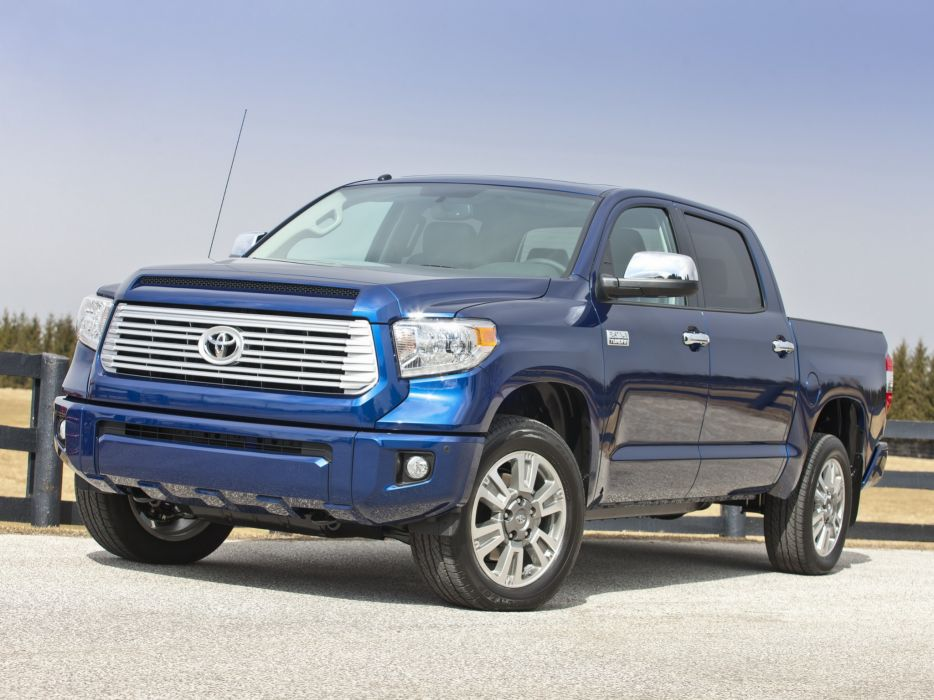 2014 Toyota Tundra CrewMax Platinum Package pickup  ha wallpaper