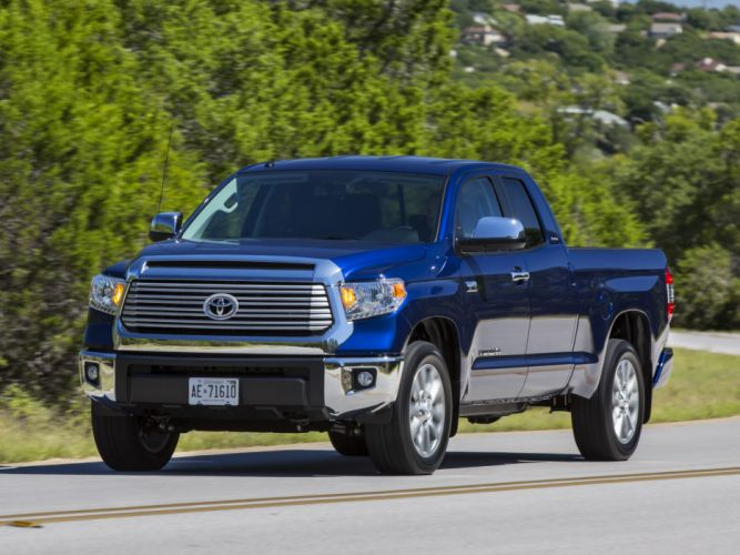 2014 Toyota Tundra Double Cab Limited pickup f wallpaper