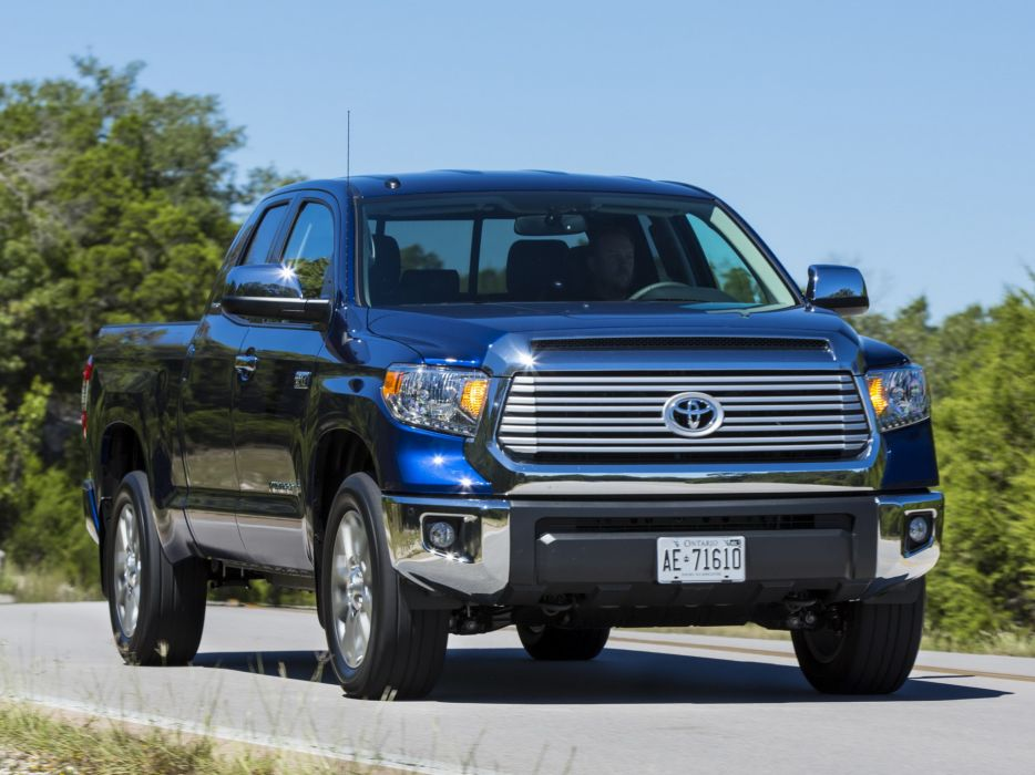 2014 Toyota Tundra Double Cab Limited pickup   gs wallpaper