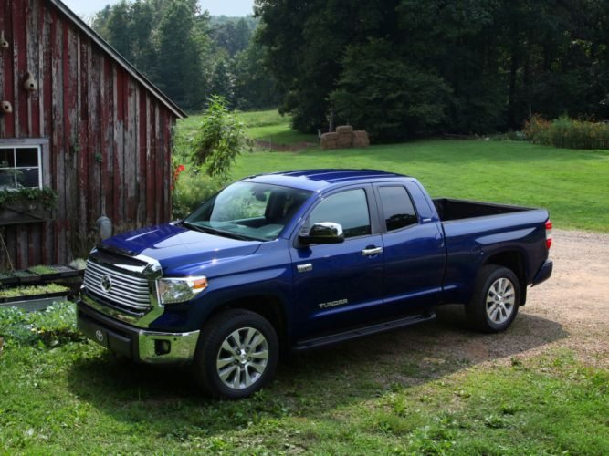 2014 Toyota Tundra Double Cab Limited pickup g wallpaper