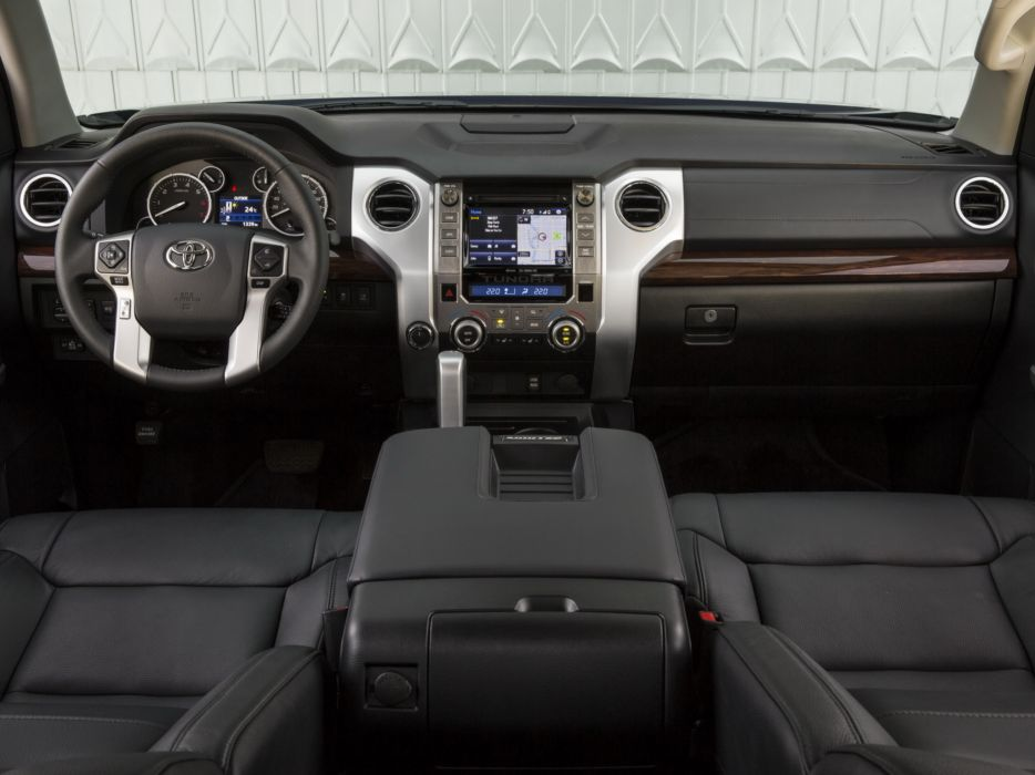 2014 Toyota Tundra Double Cab Limited pickup interior        f wallpaper
