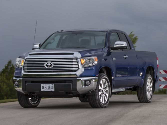 2014 Toyota Tundra Double Cab Limited pickup h wallpaper