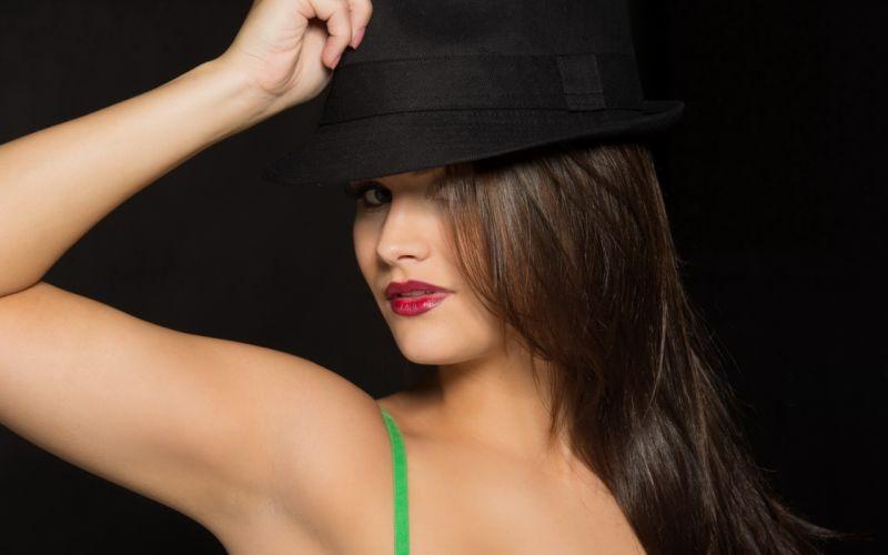 Woman Hat wallpaper