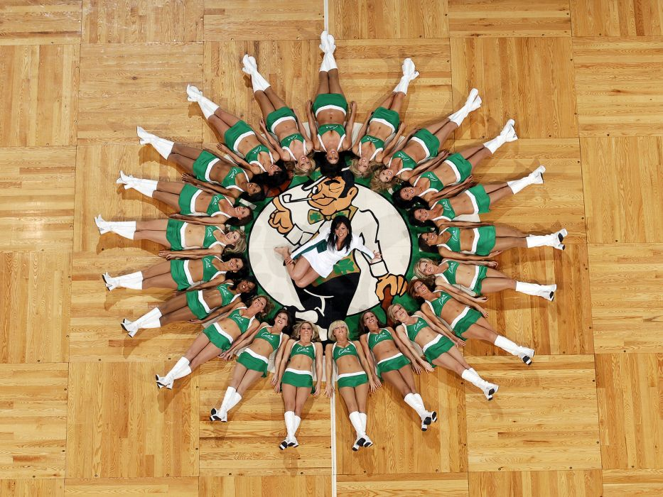 Boston Celtics cheerleader basketball nba       f wallpaper