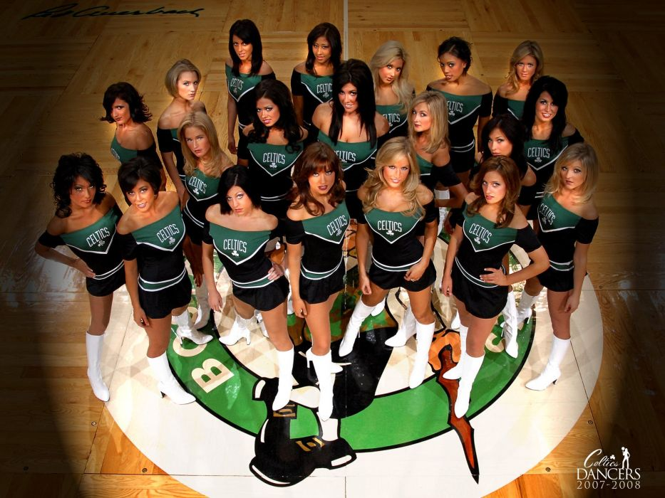Boston Celtics cheerleader basketball nba   z wallpaper