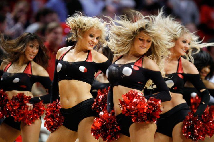 Chicago Bulls cheerleader basketball nba f wallpaper
