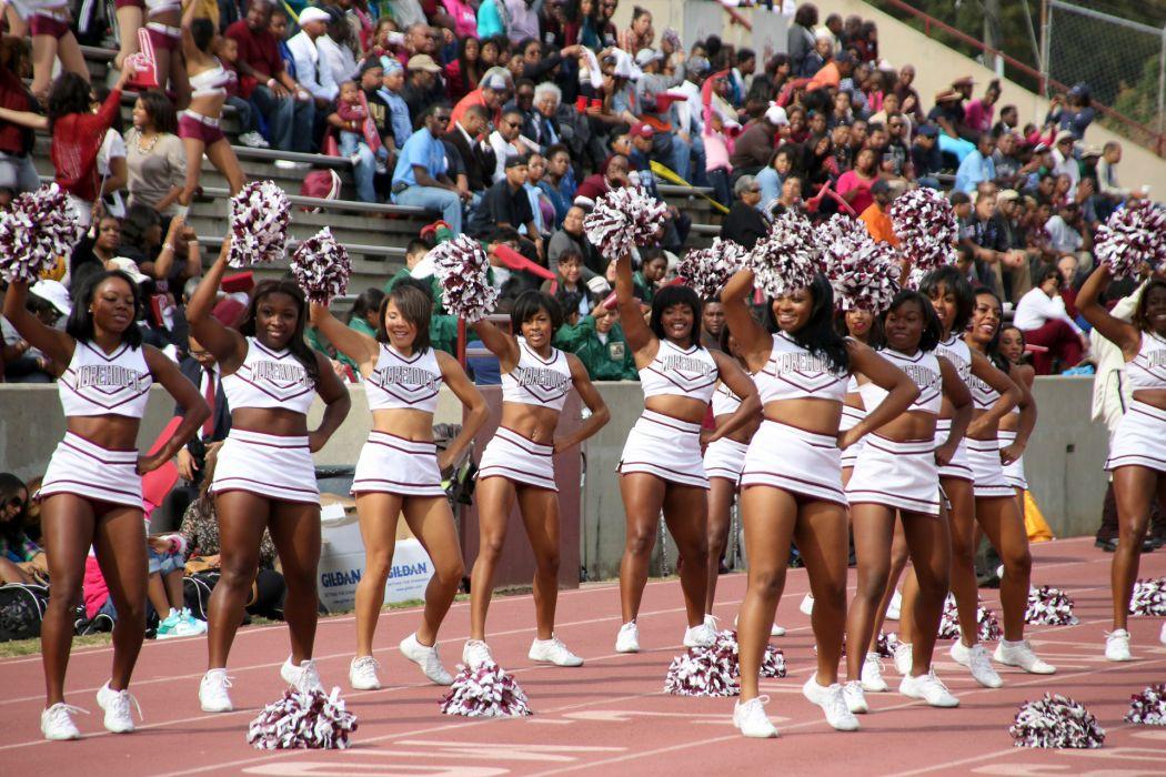college football cheerleader  dd wallpaper