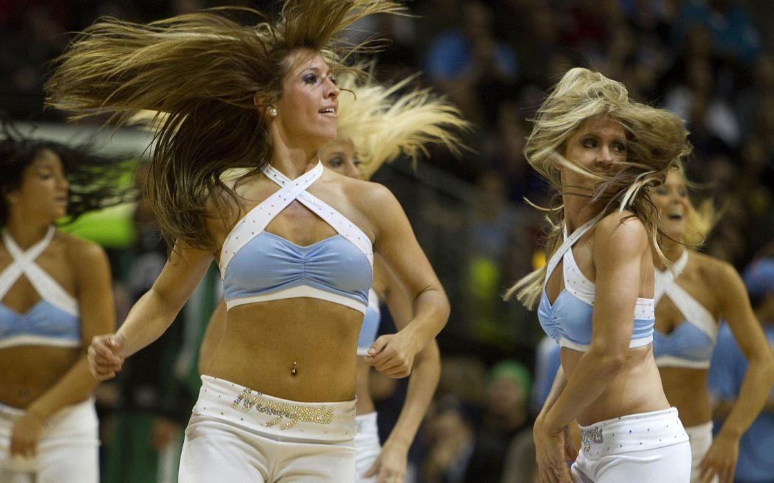 Denver Nuggets cheerleader basketball nba        g wallpaper