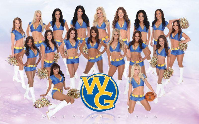Golden State Warriors cheerleader basketball nba f wallpaper