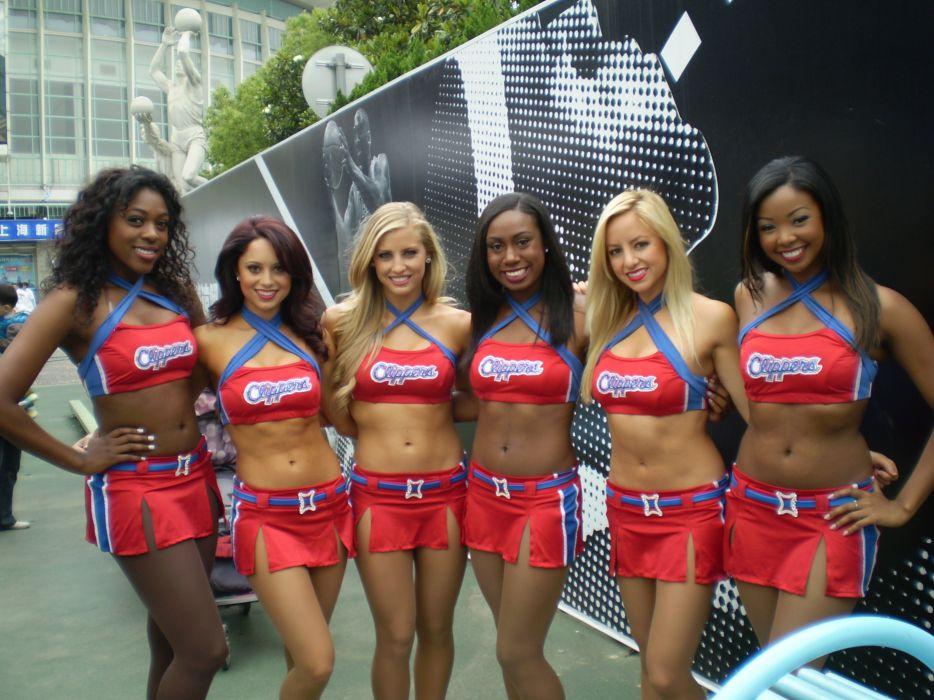 Los Angeles Clippers cheerleader nba      f_JPG wallpaper