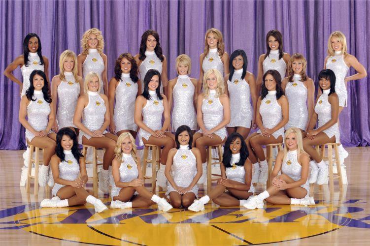 Los Angeles Lakers cheerleader nba r wallpaper