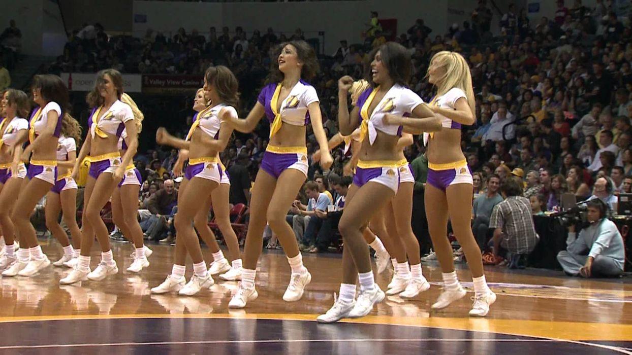 Los Angeles Lakers cheerleader nba   g wallpaper