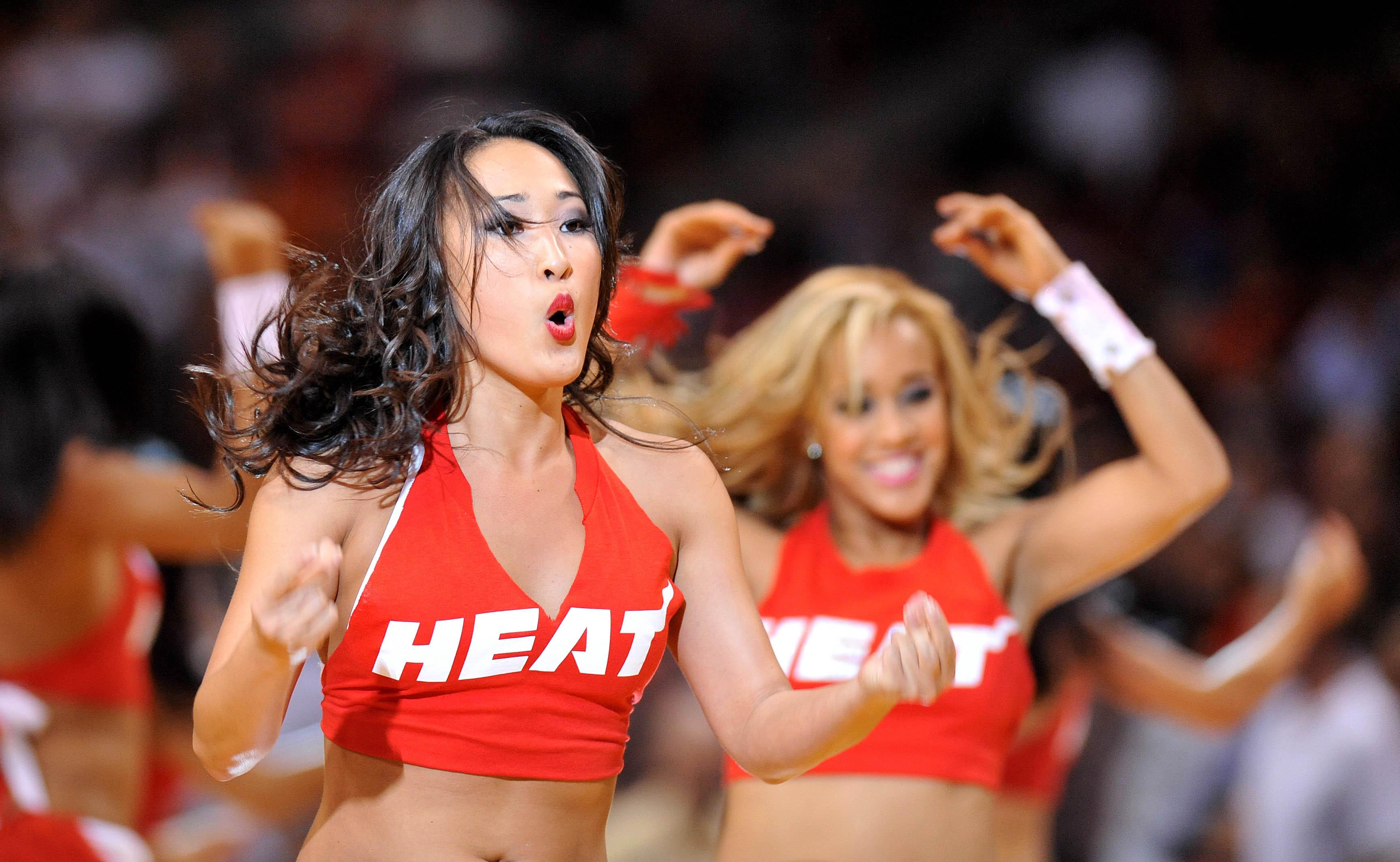 Naked miami heat cheerleaders