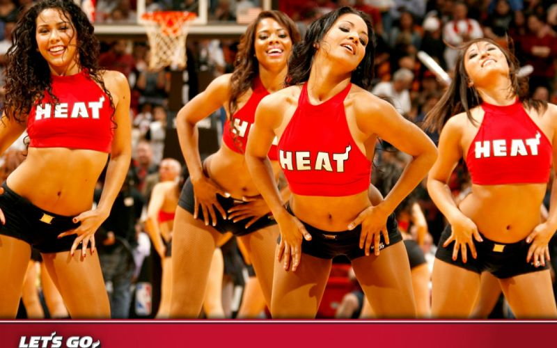 Miami Heat cheerleader basketball nba f wallpaper