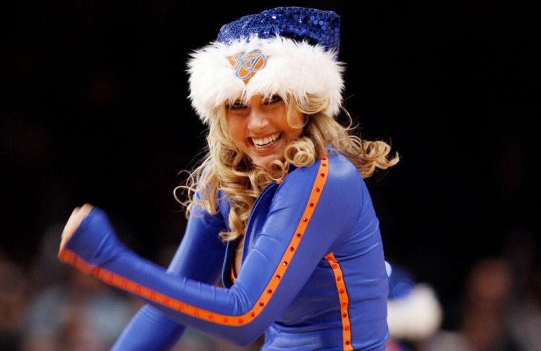 New York Knicks cheerleader basketball nba f wallpaper