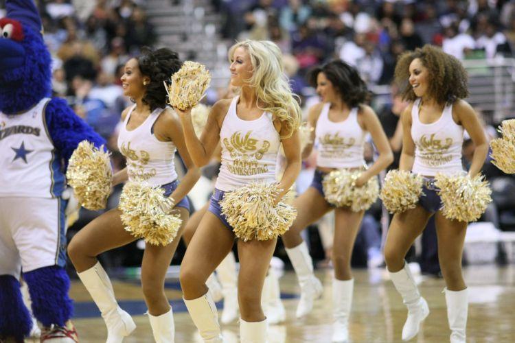 Washington Wizards cheerleader basketball nba f wallpaper