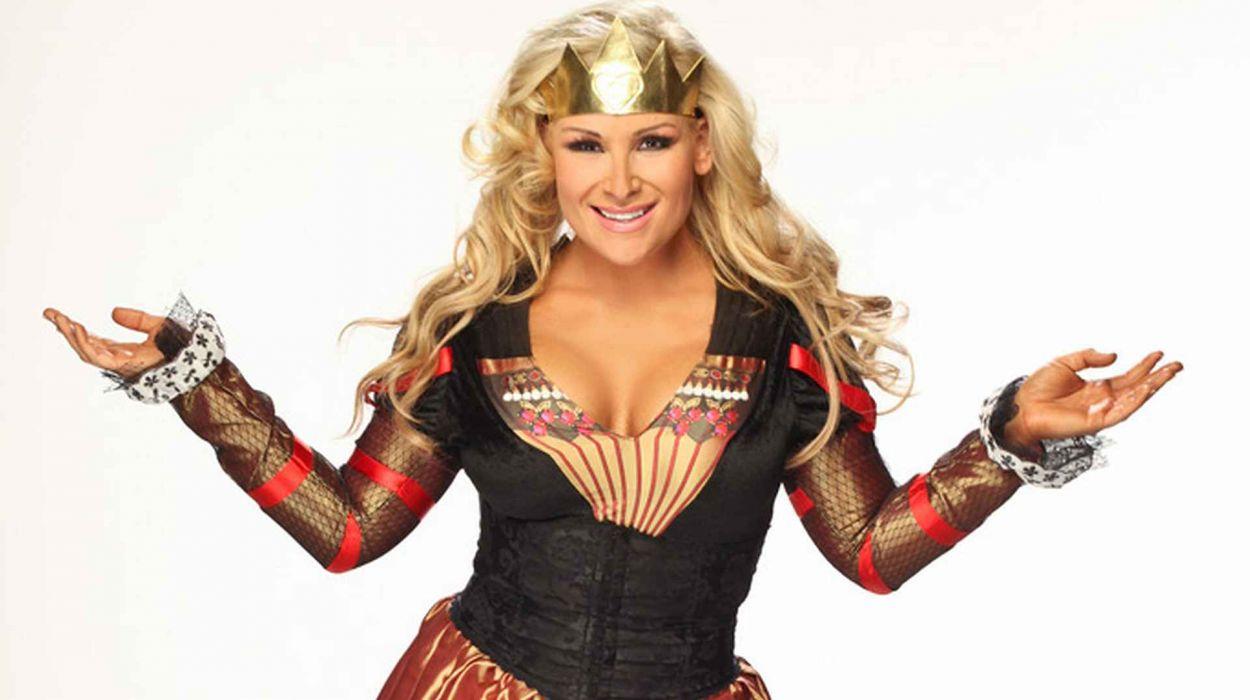 WWE DIVAS wrestling sexy babe   gr wallpaper