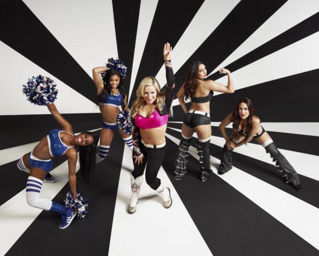 WWE DIVAS wrestling sexy babe fu wallpaper