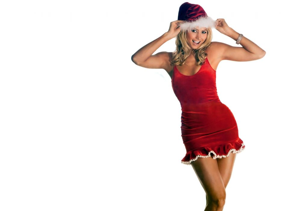 WWE DIVAS wrestling sexy babe christmas    v wallpaper