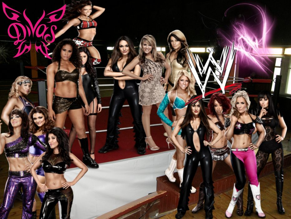 WWE DIVAS wrestling sexy babe gs wallpaper