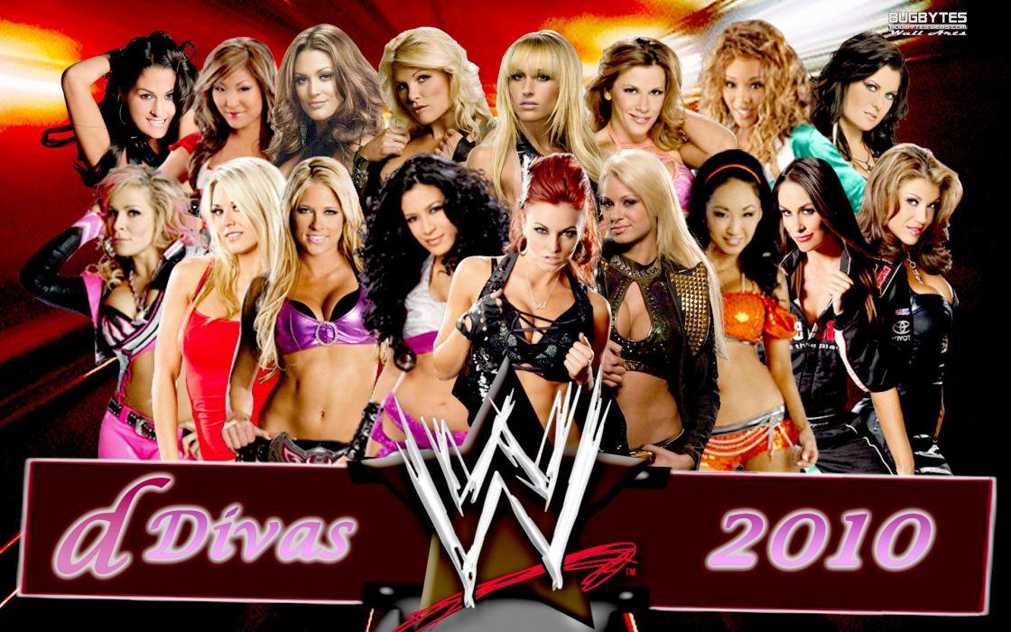 WWE DIVAS wrestling sexy babe wallpaper
