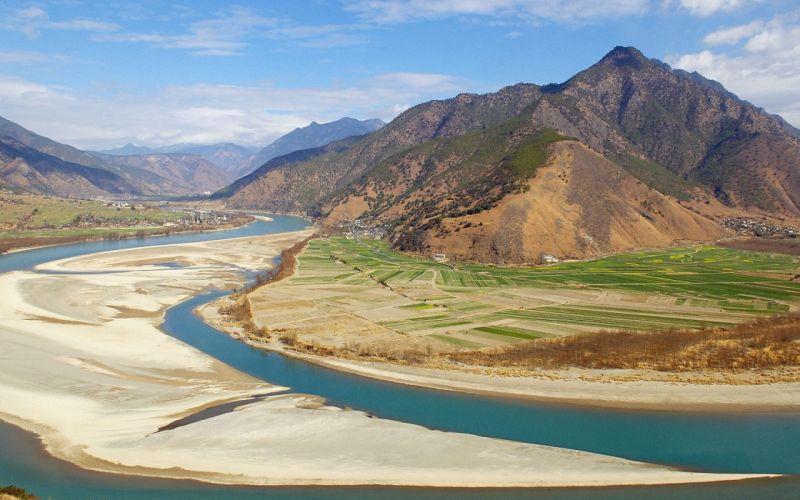 Landscape Mountain China Yunnan wallpaper