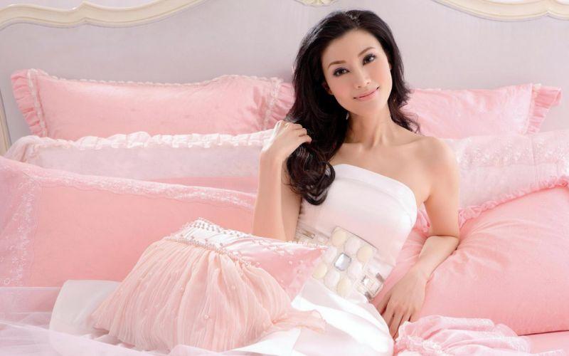 Woman Girl Beauty Asian Michelle Reis wallpaper