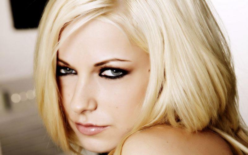 Woman Girl Beauty Blonde Danielle Trixie wallpaper