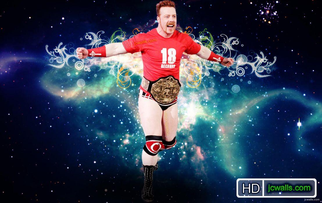 WWE wrestling   re wallpaper